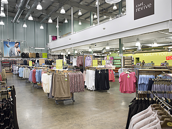 image of retail shed interior